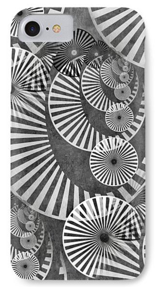 Wheel In The Sky Bw IPhone Case by Angelina Vick
