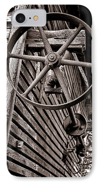 Wheel Of Labor  IPhone Case by Olivier Le Queinec
