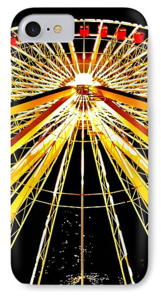 Wheel Of Light Phone Case by Benjamin Yeager