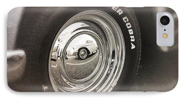Wheel On Wheel IPhone Case by Paul Cammarata