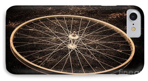 Wheel Phone Case by Sinisa Botas