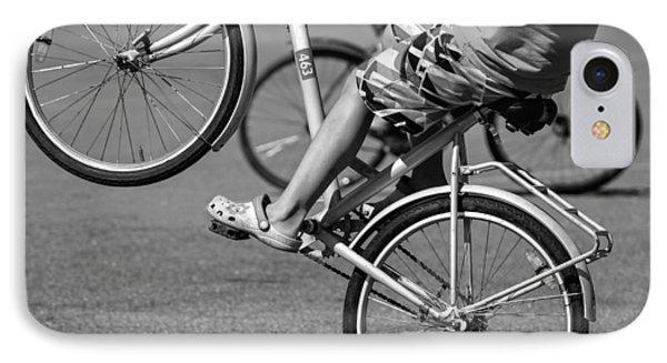 IPhone Case featuring the photograph Wheelie Boys by Ari Salmela