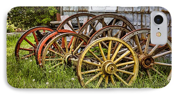 Wheels At Rest IPhone Case by Gerda Grice