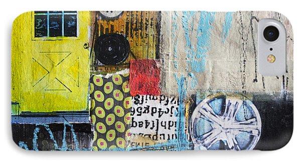 Wheels IPhone Case by Elena Nosyreva