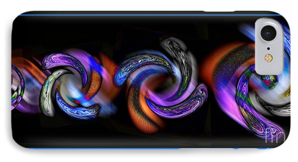 Wheels In Motion IPhone Case by Sue Stefanowicz