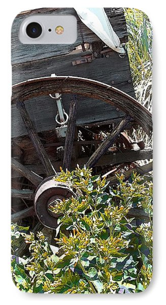 Wheels In The Garden IPhone Case by Glenn McCarthy Art and Photography