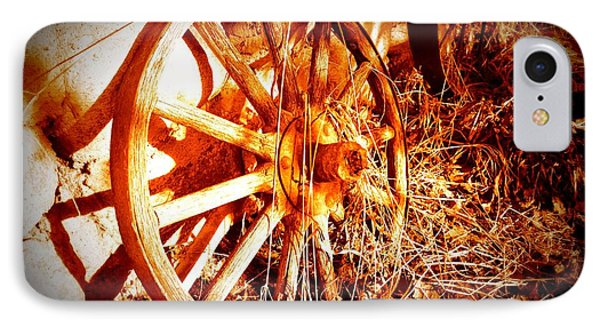 Wheelsofold 001 IPhone Case by Guy Hoffman