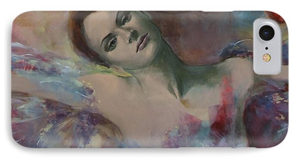 When A Dream Has Colored Wings Phone Case by Dorina  Costras
