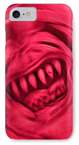IPhone Case featuring the photograph When Anxiety Attacks by John King