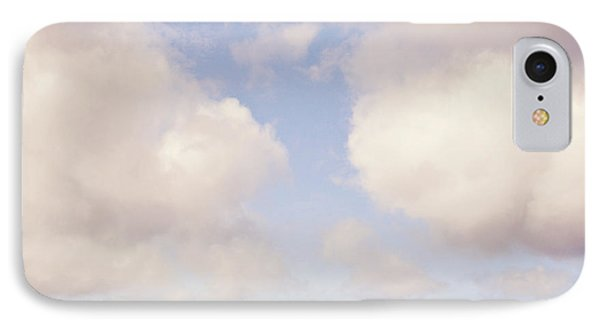 When Clouds Meet The Sea Phone Case by Lyn Randle