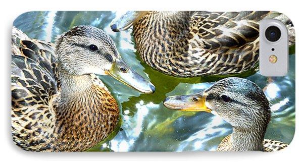 When Duck Bills Meet IPhone Case