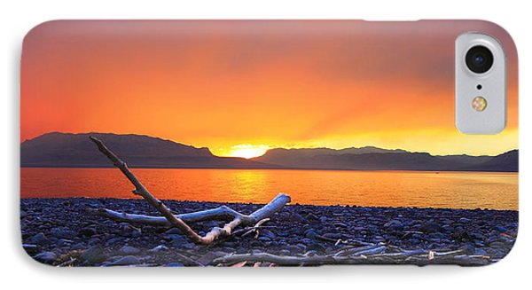 When Evening Gilds The Skies IPhone Case
