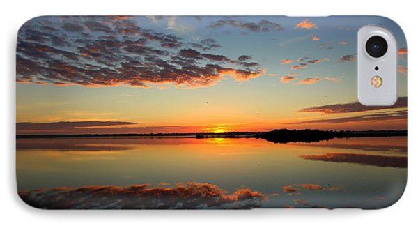 When Heaven Blankets The Earth Phone Case by Karen Wiles