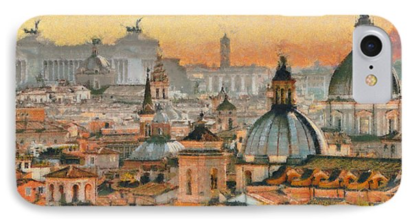 When In Rome IPhone Case