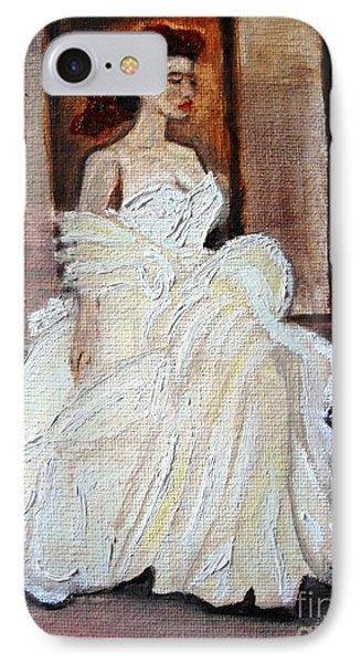 When Lovely Women II IPhone Case by Helena Bebirian