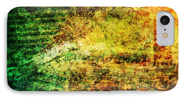 IPhone Case featuring the mixed media When Past And Present Intersect #1 by Sandy MacGowan
