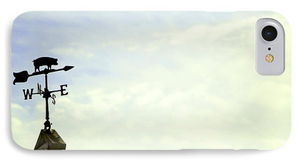 IPhone Case featuring the photograph When Pigs Fly by Courtney Webster