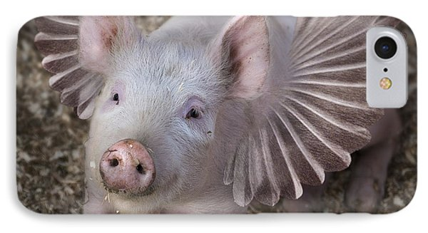 When Pigs Fly IPhone Case by Rick Mosher