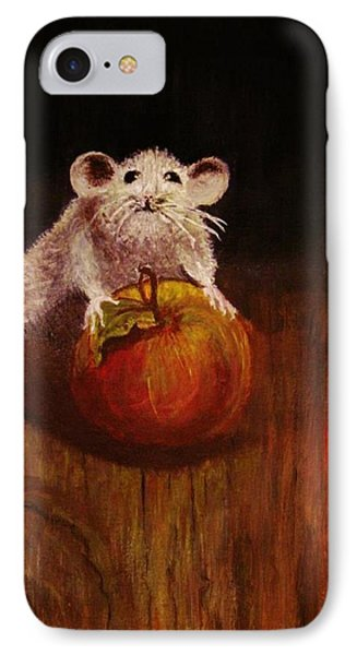IPhone Case featuring the painting When The Cat Is Not At Home... by Cristina Mihailescu