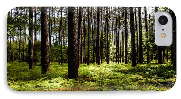 When The Forest Beckons Phone Case by Karen Wiles