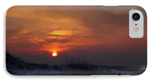 IPhone Case featuring the photograph When The Sun Goes Down  by Annie Snel