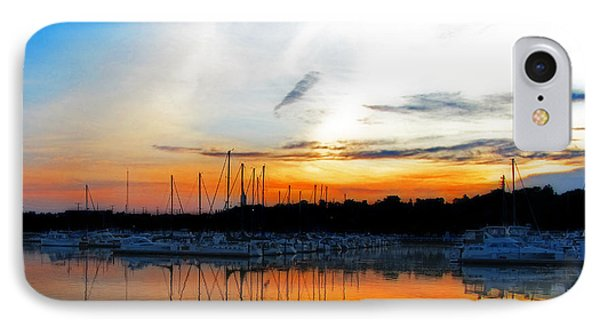 When The Sun Goes Down IPhone Case by Susan  McMenamin