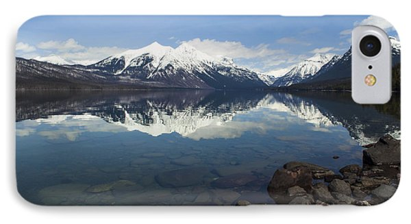 When The Sun Shines On Glacier National Park IPhone Case by Fran Riley