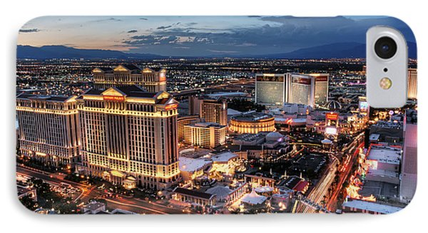 When Vegas Comes To Life Phone Case by Eddie Yerkish