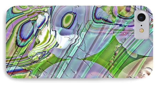 IPhone Case featuring the digital art When Worlds Collide by Richard Thomas