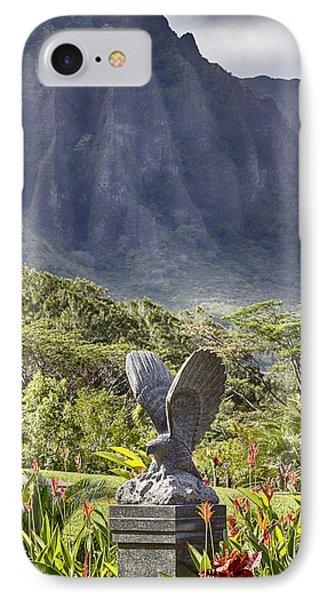 Where Eagles Fly Phone Case by Douglas Barnard