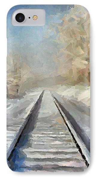 Where Is The Train IPhone Case by Dragica  Micki Fortuna
