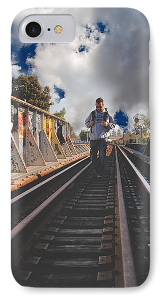 Where It Takes Me IPhone Case by Laurie Search