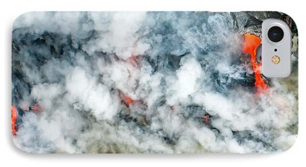 Where Lava Flows IPhone Case by Jim Thompson
