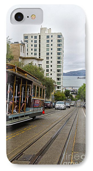 Where Little Cable Cars... IPhone Case by David Bearden