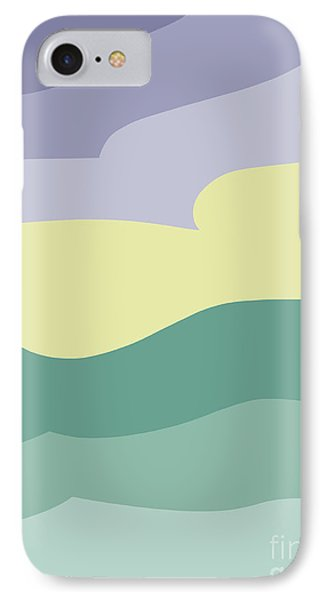 Where Sea Meets Sky IPhone Case by Henry Manning