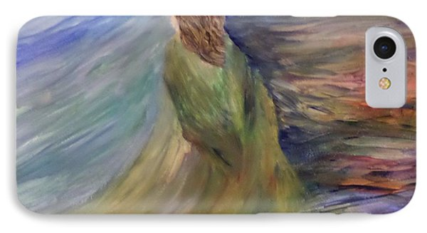 IPhone Case featuring the painting Where The Angels Rest by Christy Saunders Church
