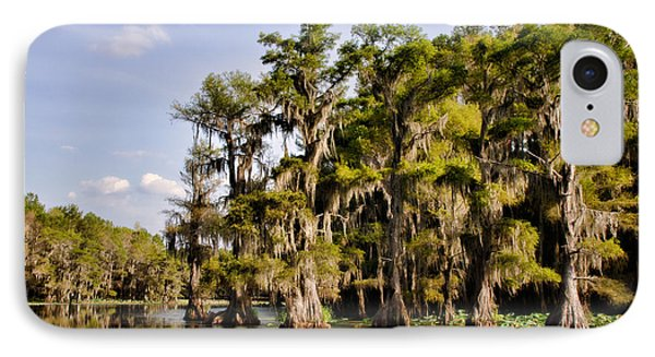 IPhone Case featuring the photograph Where The Cypress Grows by Lana Trussell