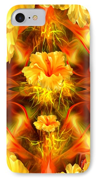 Where The Flowers Go To Pray IPhone Case by Giada Rossi