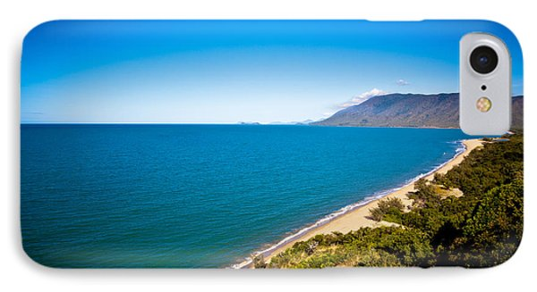 Where The Forest Meets The Sea IPhone Case by Carole Hinding