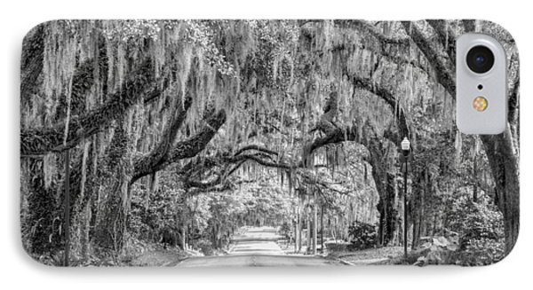 Where The Road Leads IPhone Case by Carl Clay
