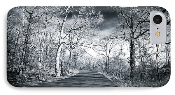 Where The Road Leads Phone Case by John Rizzuto