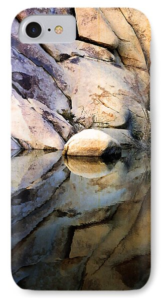 IPhone Case featuring the photograph Where We Meet by Kathy Bassett