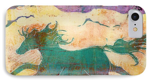 Where Wild Horses Roam IPhone Case by P Maure Bausch