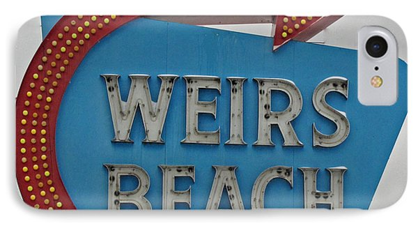 Where's Weirs? Phone Case by Barbara McDevitt