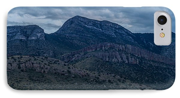 IPhone Case featuring the photograph Whetstone Mountain Dusk by Beverly Parks