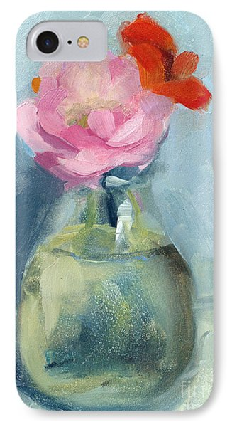 Whidbey Flowers IPhone Case by Jayne Morgan