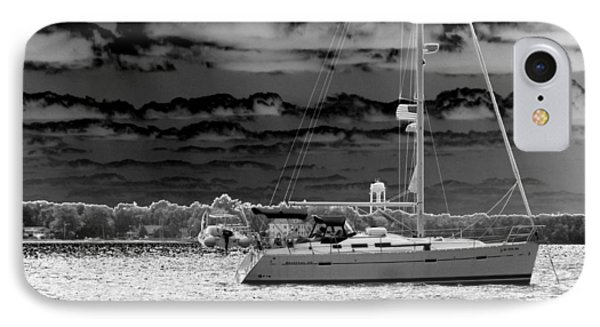 Whilst We Were Sailing Phone Case by Rick Todaro