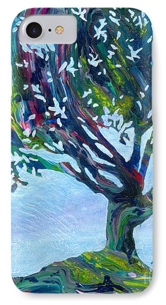 Whimsical Tree IPhone Case by Denise Hoag