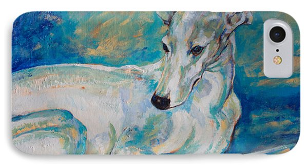 Whippet-effects Of Gravity 4 Phone Case by Derrick Higgins