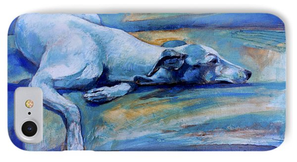 Whippet-effects Of Gravity-6 Phone Case by Derrick Higgins